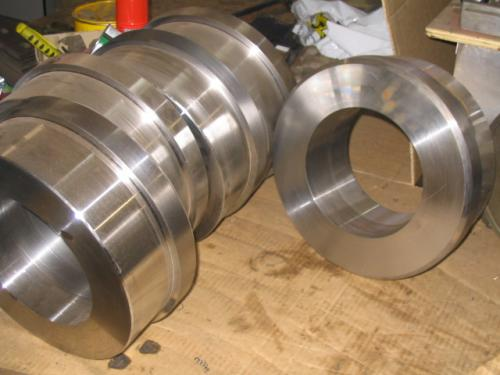 Machined Pulley Hubs