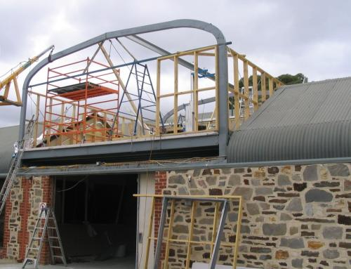 Chapel Hill Roof Structure